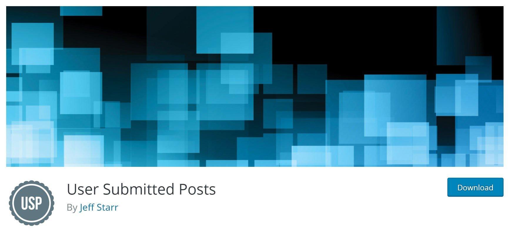 User Submitted Posts WordPress Plugin