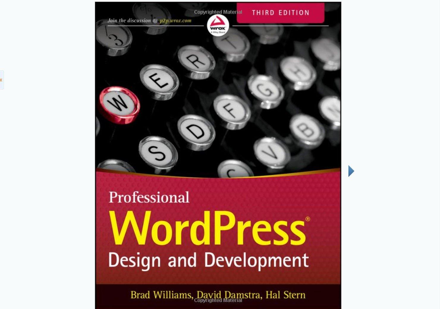 WordPress Development Book