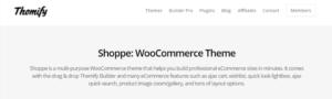 Shoppe WordPress theme