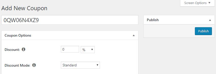 Creating a coupon using MemberPress.