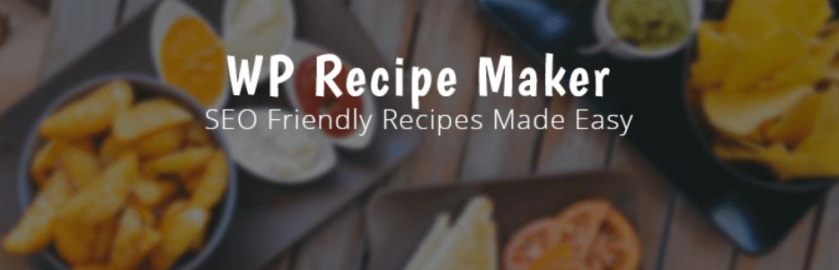 The WP Recipe Maker plugin.