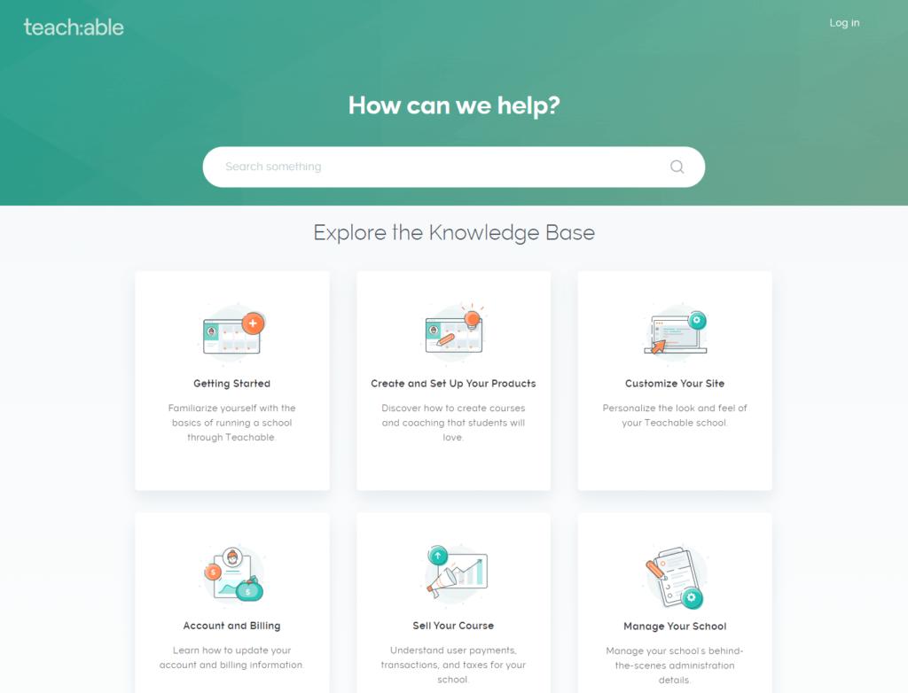 The Teachable knowledge base.