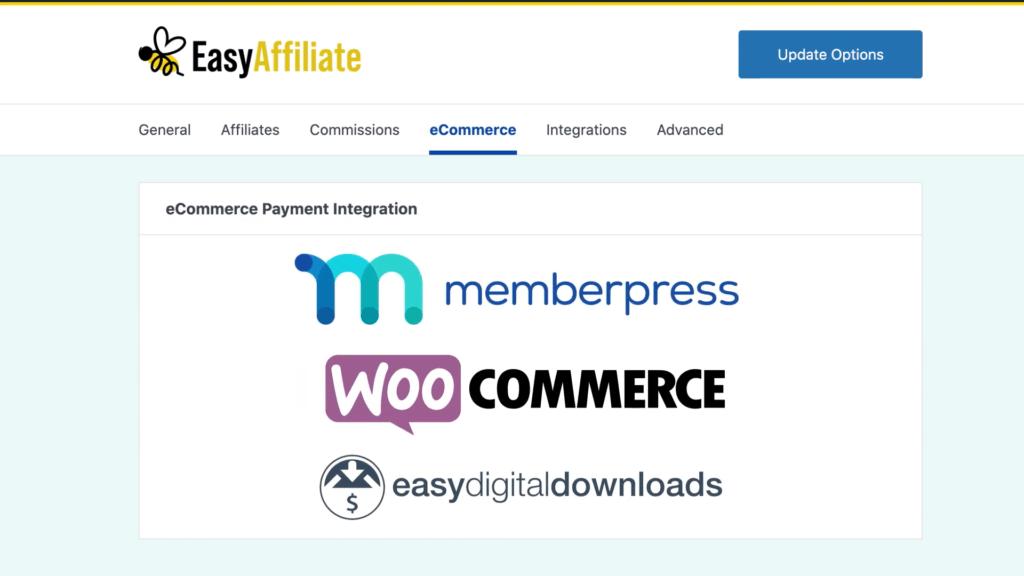 Easy Affiliate eCommerce Integrations