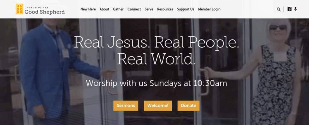 The Church of the Good Shepherd website.