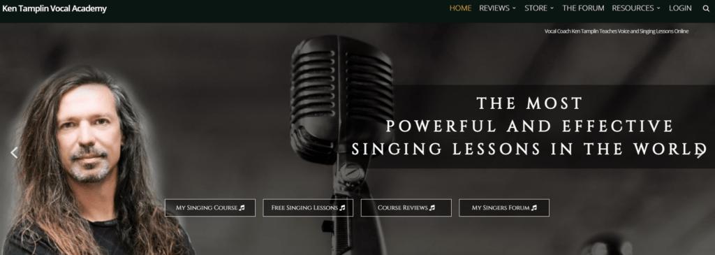 The Ken Tamplin Vocal Academy homepage